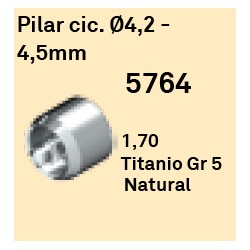 Pilar Cic. Ø 4.2 - 4.5 mm Héxagono Alto