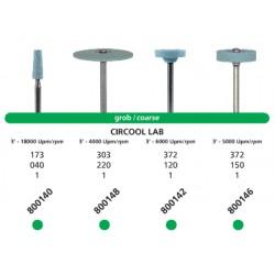Punta Circool Lab Grano Grueso HP Para Zirconio 800140