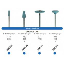 Punta Circool Lab Grano Medio HP Para Zirconio 800133