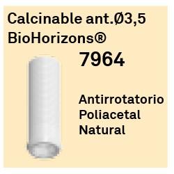 Calcinable Ant. Ø 3.5 BioHorizons Héxagono Externo