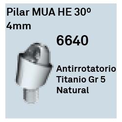 Pilar MUA HE 30º - 4mm Conica Externa
