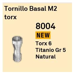 Tornillo Basal M2 Torx Octógono Interno