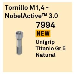 Tornillo M1,4 NobelActive 3.0 Cónica Interna