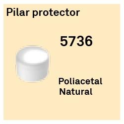 Pilar Protector Héxagono Alto
