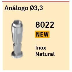 Análogo Ø 3,3 Hexágono Externo