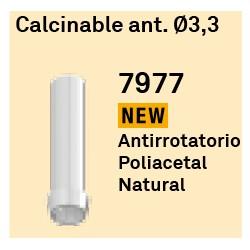 Calcinable Ant. Ø 3,3 Hexágono Externo