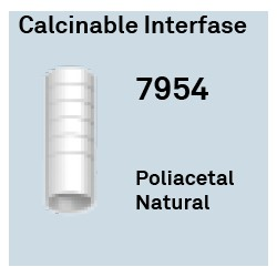 Calcinable Interfase Ant. Ø 4.1 Hexágono Externo