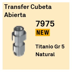Transfer Cubeta Abierta Héxagono Externo