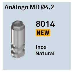 Análogo MD Ø4,2 Héxagono Externo