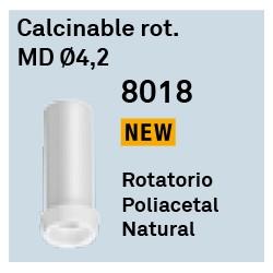 Calcinable Rot. MD Ø4,2 Héxagono Externo