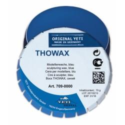 Cera Para modelar Thowax Azul 70 gr.