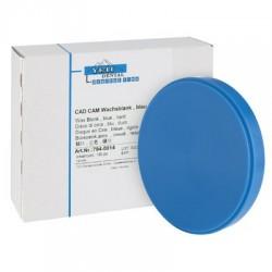 Disco De Cera Dura Para CAD/CAM Azul