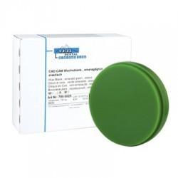 Disco De Cera Dura Para CAD/CAM Verde