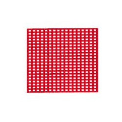 Red De Cera Roja 7,5x6.5 cm - 20 tabl.