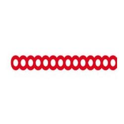Retenciones De Perforaciones Ovaladas, 25 palos