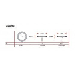 Disco De Diamante Discoflex 173D