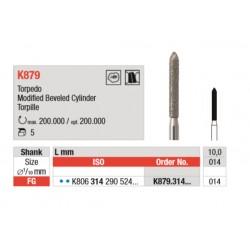 K879.314.014 Diamantados Grano Medio 5 unid.