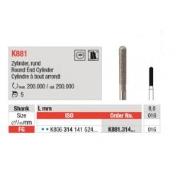 K881.314.016 Diamantados Grano Medio 5 unid.