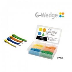 Cuñas De Plástico G-Wedges Kit 400 uds