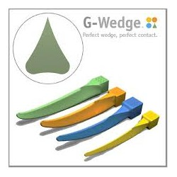 Cuñas De Plástico Reposicion G-Wedges 100 uds