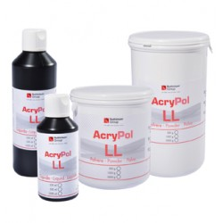 Resina Acrílica Acry Pol ll Termopolimerizable Polvo 1000 gr