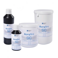 Resina Acrilica Acry Ort Sc Autopolimerizable Polvo 1000 gr.