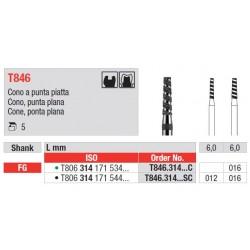T846.314.016SC Diamantado Turbo Grano Super Grueso 5 unid.