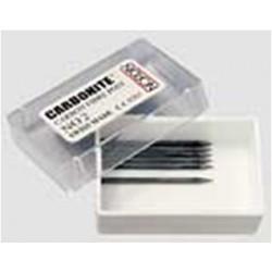 Postes Carbonite de fibra de Carbono reposición 6 unid.